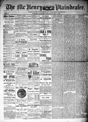 McHenry Plaindealer (McHenry, IL), 7 May 1884