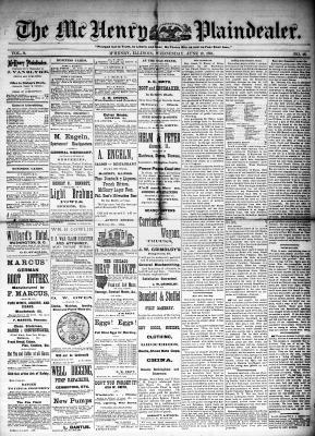 McHenry Plaindealer (McHenry, IL), 18 Jun 1884