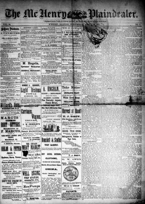 McHenry Plaindealer (McHenry, IL), 20 Aug 1884