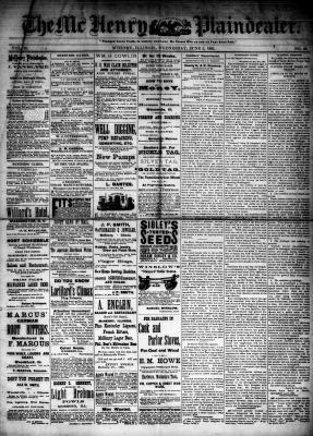 McHenry Plaindealer (McHenry, IL), 3 Jun 1885