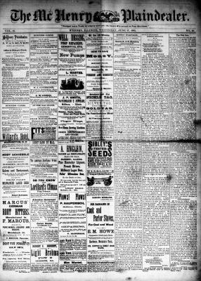 McHenry Plaindealer (McHenry, IL), 17 Jun 1885