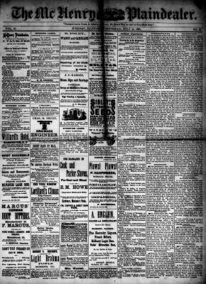 McHenry Plaindealer (McHenry, IL), 15 Jul 1885