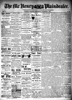 McHenry Plaindealer (McHenry, IL), 2 Dec 1885