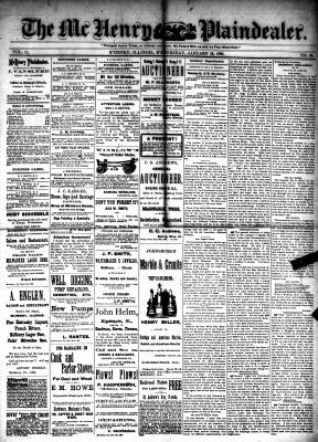 McHenry Plaindealer (McHenry, IL), 13 Jan 1886