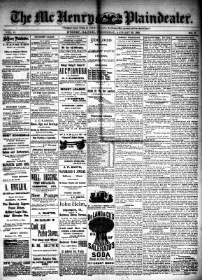 McHenry Plaindealer (McHenry, IL), 20 Jan 1886