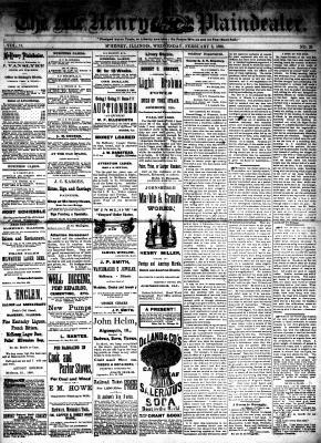 McHenry Plaindealer (McHenry, IL), 3 Feb 1886