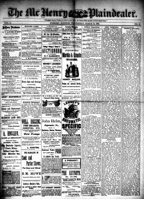 McHenry Plaindealer (McHenry, IL), 10 Mar 1886