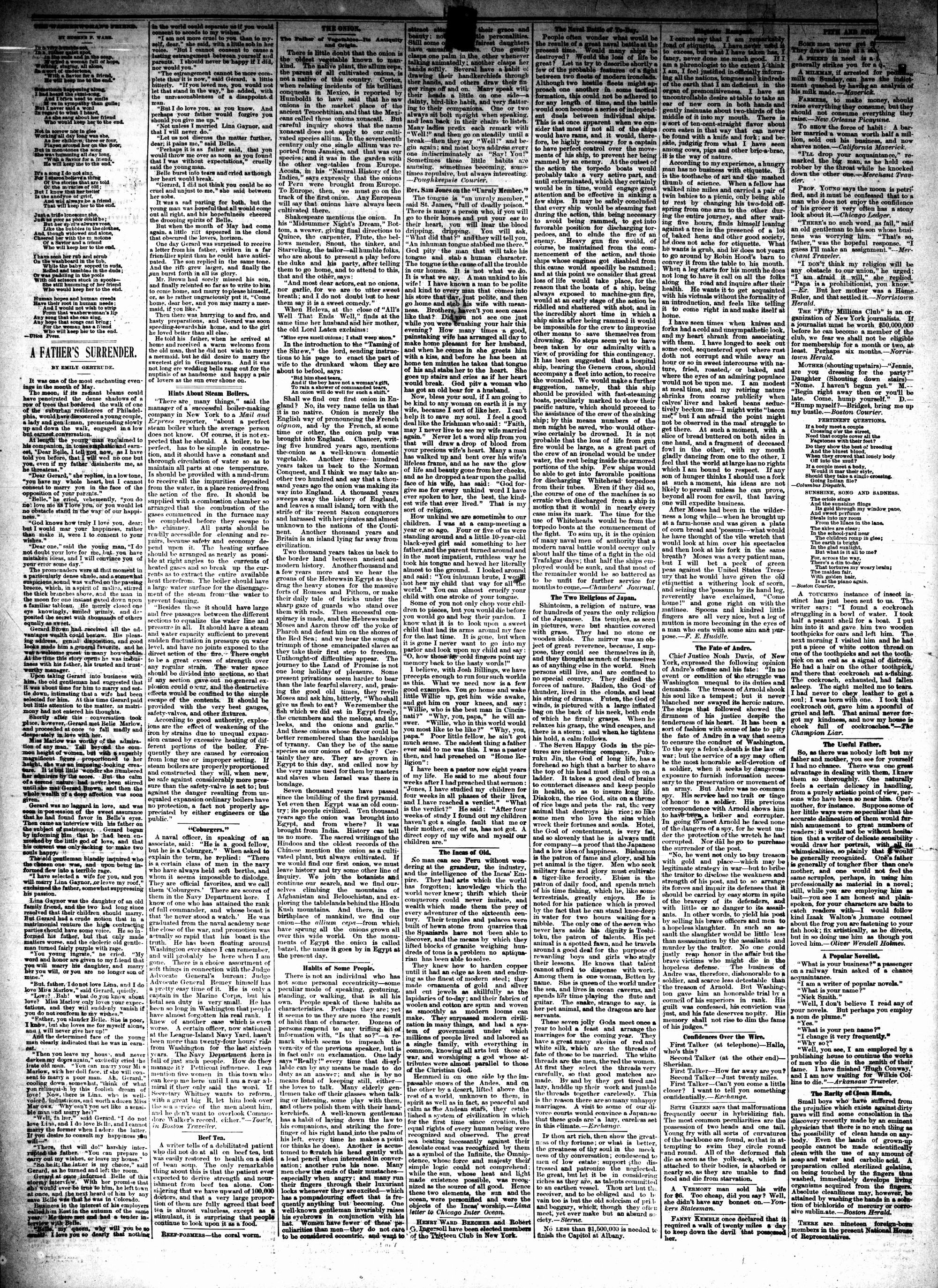 McHenry Plaindealer (McHenry, IL), 17 Mar 1886