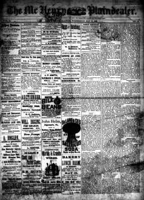 McHenry Plaindealer (McHenry, IL), 19 May 1886