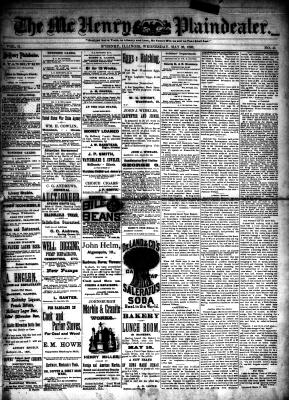 McHenry Plaindealer (McHenry, IL), 26 May 1886