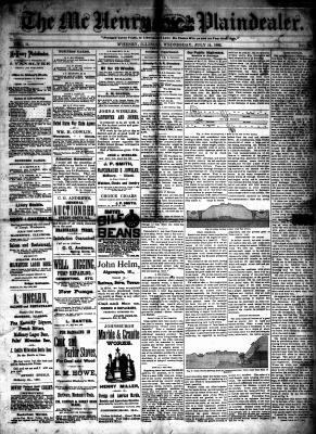 McHenry Plaindealer (McHenry, IL), 14 Jul 1886