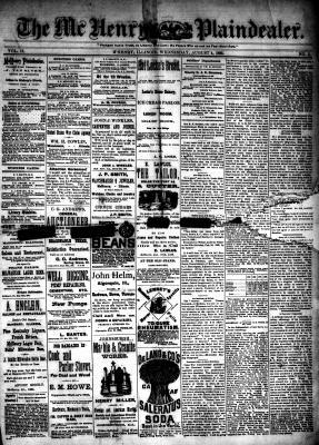 McHenry Plaindealer (McHenry, IL), 4 Aug 1886