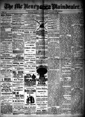 McHenry Plaindealer (McHenry, IL), 13 Oct 1886