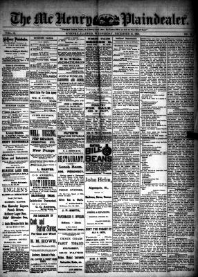 McHenry Plaindealer (McHenry, IL), 15 Dec 1886