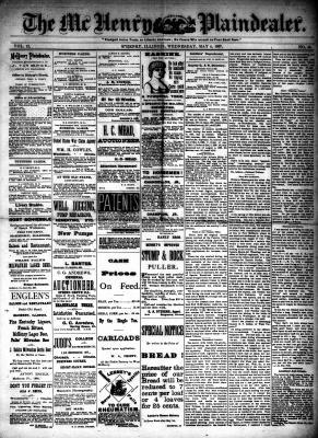 McHenry Plaindealer (McHenry, IL), 4 May 1887