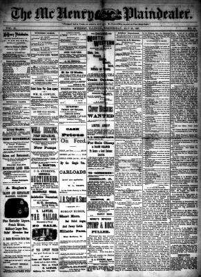 McHenry Plaindealer (McHenry, IL), 25 May 1887