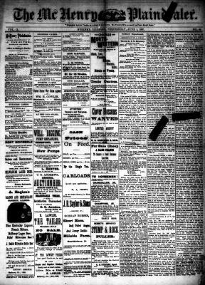 McHenry Plaindealer (McHenry, IL), 1 Jun 1887