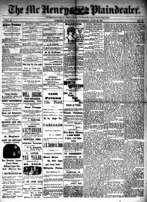 McHenry Plaindealer (McHenry, IL), 29 Jun 1887