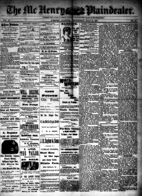 McHenry Plaindealer (McHenry, IL), 13 Jul 1887