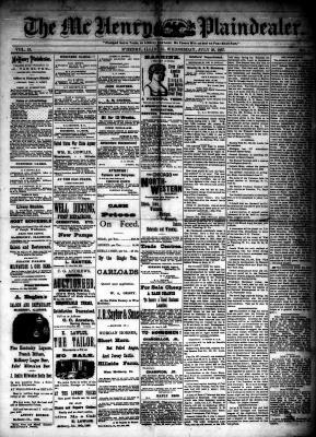 McHenry Plaindealer (McHenry, IL), 20 Jul 1887