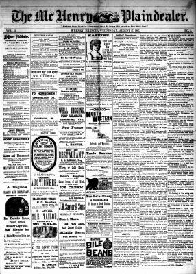 McHenry Plaindealer (McHenry, IL), 17 Aug 1887