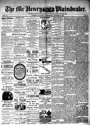 McHenry Plaindealer (McHenry, IL), 19 Oct 1887