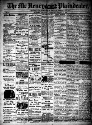 McHenry Plaindealer (McHenry, IL), 11 Jan 1888