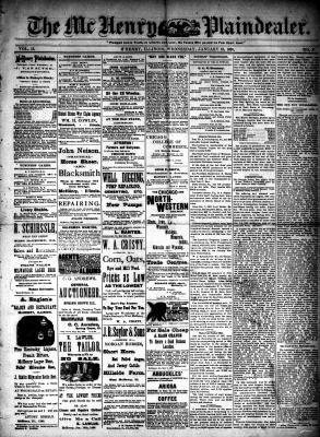 McHenry Plaindealer (McHenry, IL), 18 Jan 1888