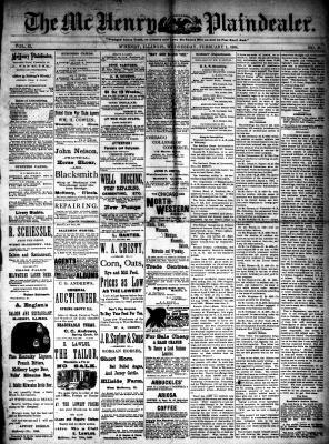 McHenry Plaindealer (McHenry, IL), 1 Feb 1888