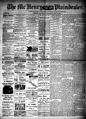 McHenry Plaindealer (McHenry, IL), 16 May 1888