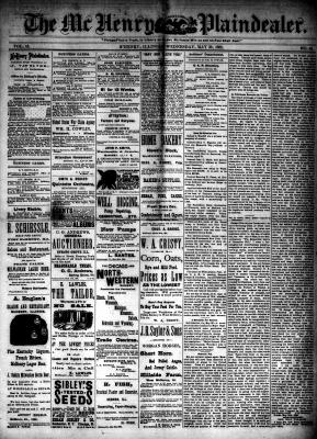 McHenry Plaindealer (McHenry, IL), 30 May 1888