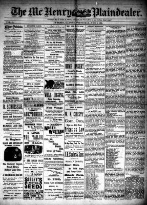 McHenry Plaindealer (McHenry, IL), 6 Jun 1888