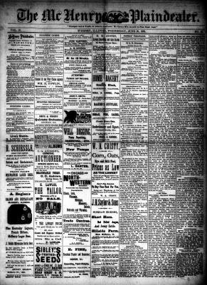 McHenry Plaindealer (McHenry, IL), 20 Jun 1888