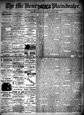 McHenry Plaindealer (McHenry, IL), 27 Jun 1888