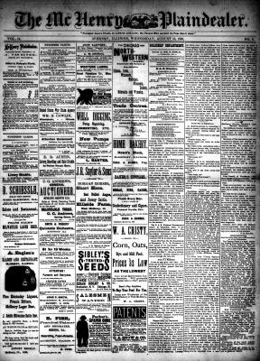 McHenry Plaindealer (McHenry, IL), 15 Aug 1888