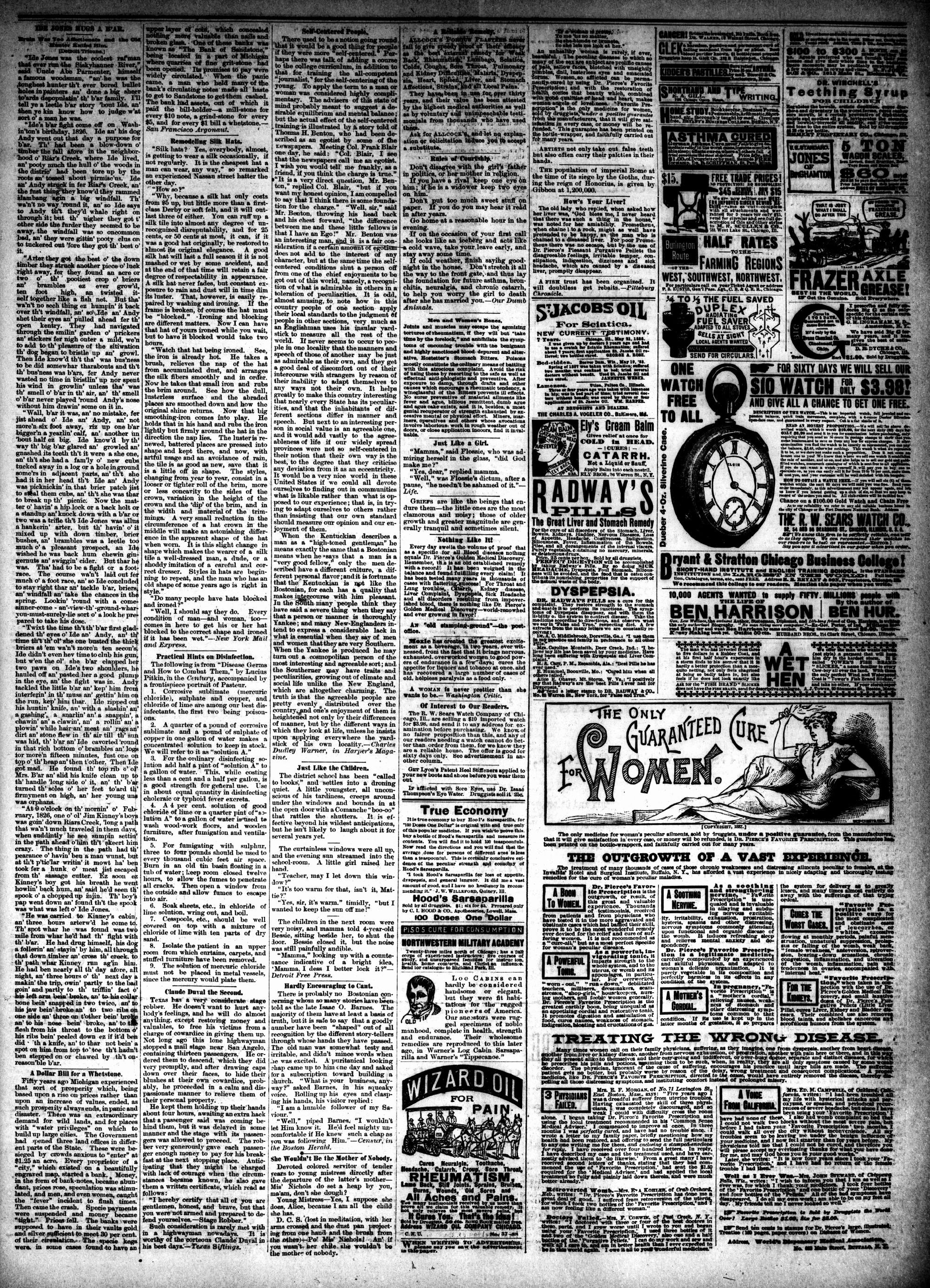 McHenry Plaindealer (McHenry, IL), 12 Sep 1888