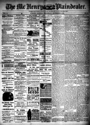 McHenry Plaindealer (McHenry, IL), 19 Sep 1888