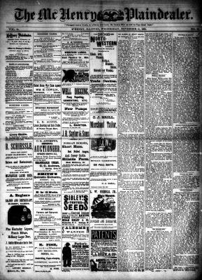 McHenry Plaindealer (McHenry, IL), 14 Nov 1888