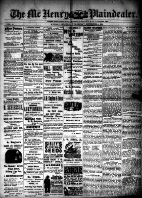 McHenry Plaindealer (McHenry, IL), 5 Dec 1888