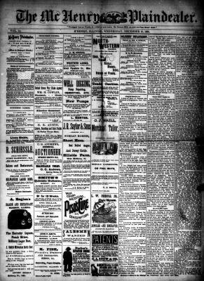 McHenry Plaindealer (McHenry, IL), 12 Dec 1888