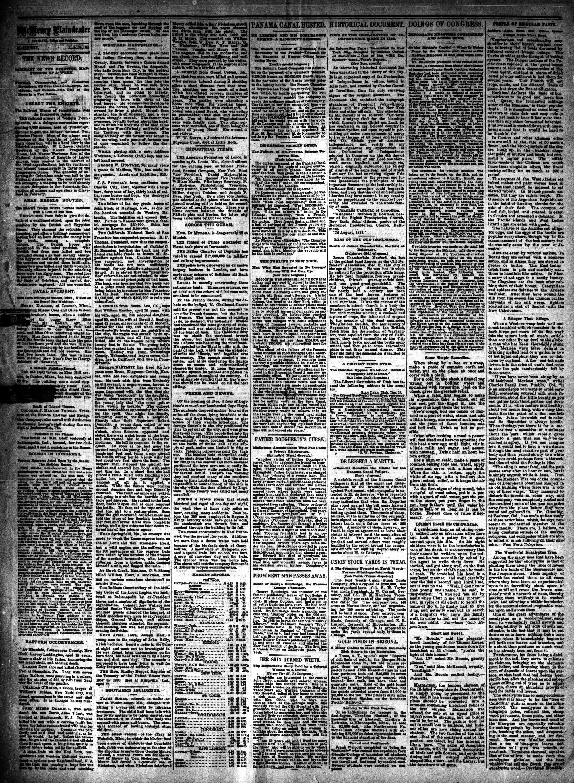 McHenry Plaindealer (McHenry, IL), 26 Dec 1888
