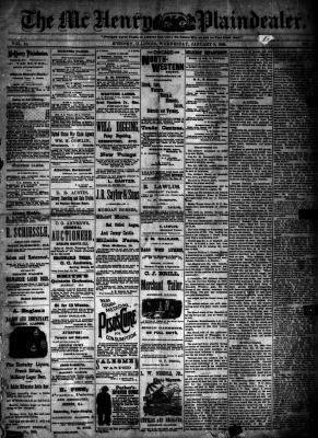 McHenry Plaindealer (McHenry, IL), 9 Jan 1889