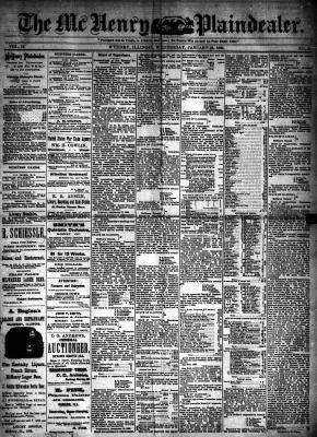 McHenry Plaindealer (McHenry, IL), 16 Jan 1889