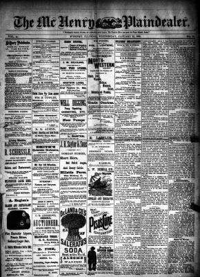 McHenry Plaindealer (McHenry, IL), 23 Jan 1889