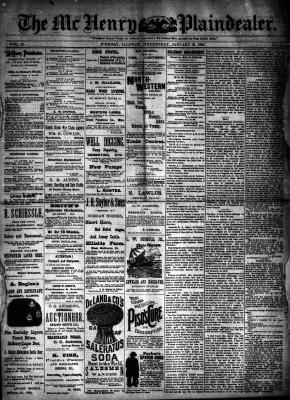 McHenry Plaindealer (McHenry, IL), 30 Jan 1889