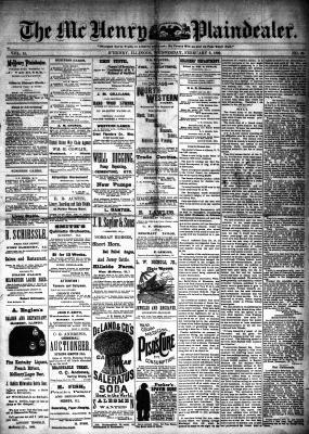 McHenry Plaindealer (McHenry, IL), 6 Feb 1889