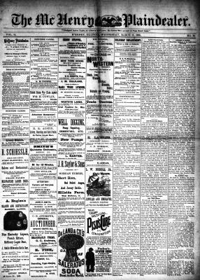 McHenry Plaindealer (McHenry, IL), 13 Mar 1889