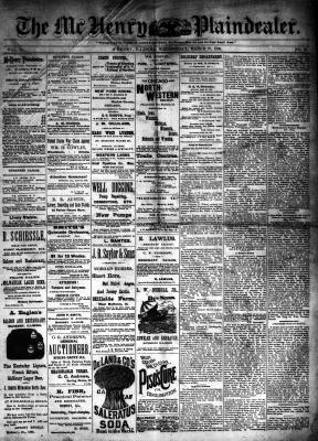 McHenry Plaindealer (McHenry, IL), 27 Mar 1884
