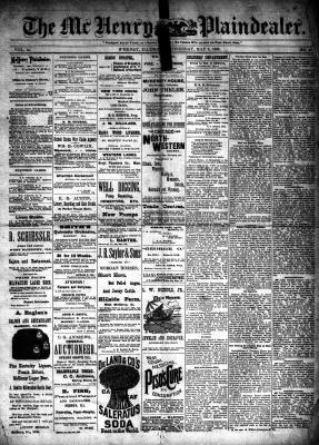 McHenry Plaindealer (McHenry, IL), 8 May 1889