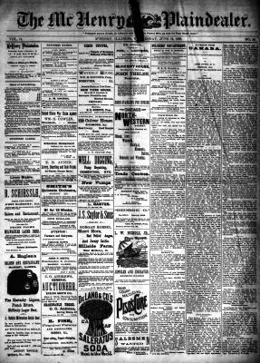 McHenry Plaindealer (McHenry, IL), 12 Jun 1889
